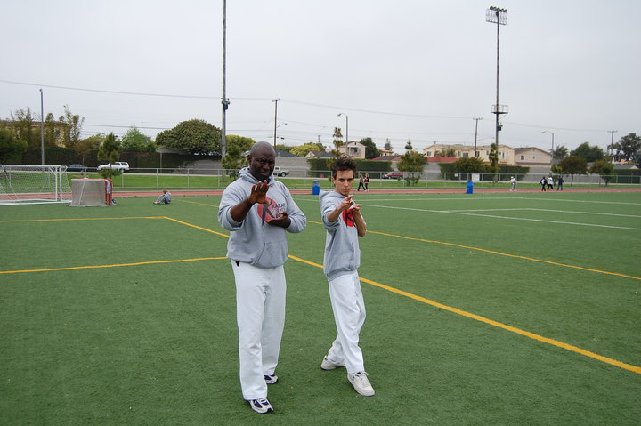 Grandmaster Clarence Smith And Tory Russo