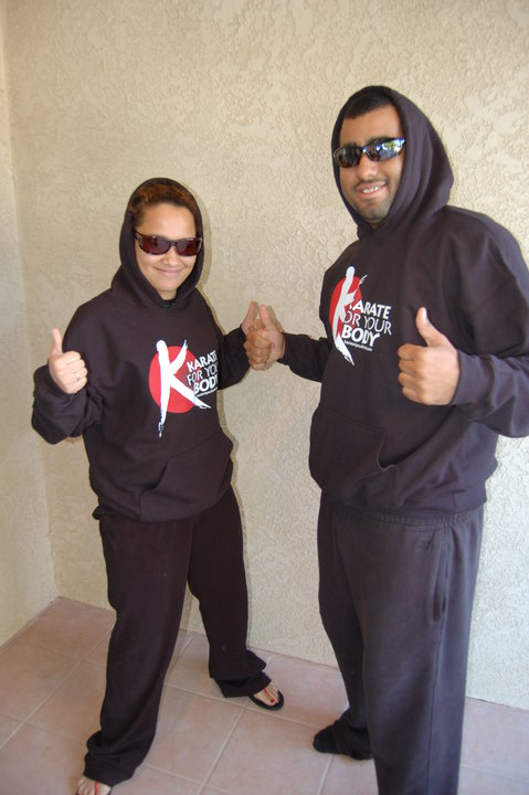 Karate For Your Body Hoodies