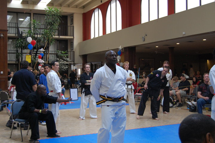 """Grandmaster Clarence """"Daddy-O"""" Smith In Competition"""