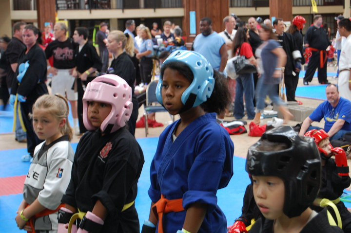 Kids At Competition