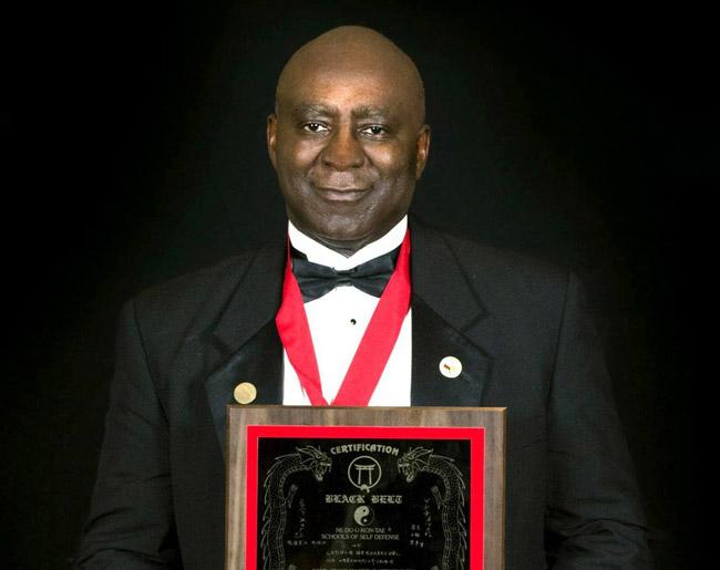 Black Belt Certification Grandmaster Clarence Smith